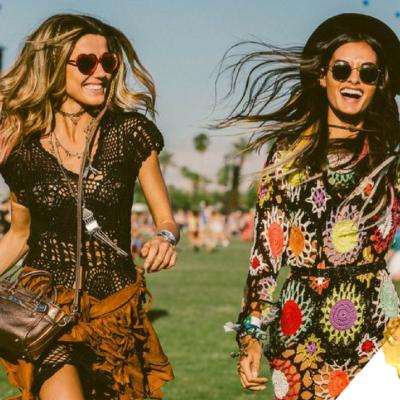 Joico z Instatint na festiwalu Coachella w Kalifornii