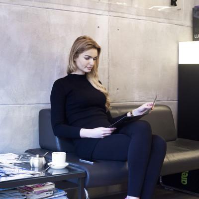 Modelka Natalia Tomczyk twarzą koloryzacji LUMISHINE