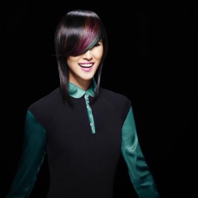 Długodystansowy kolor włosów