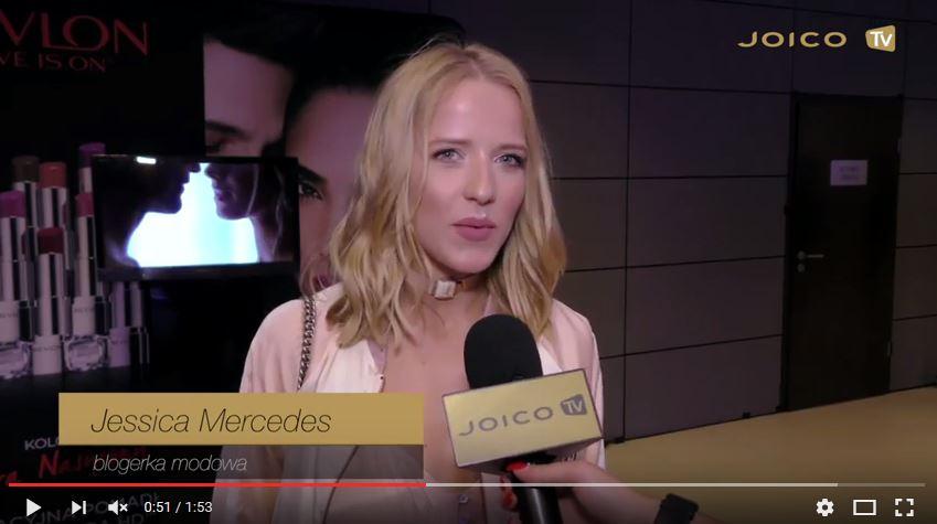 Jessica Mercedes na pokazie paprocki&brzozowski