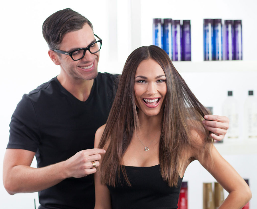 Idealna wizyta u fryzjera