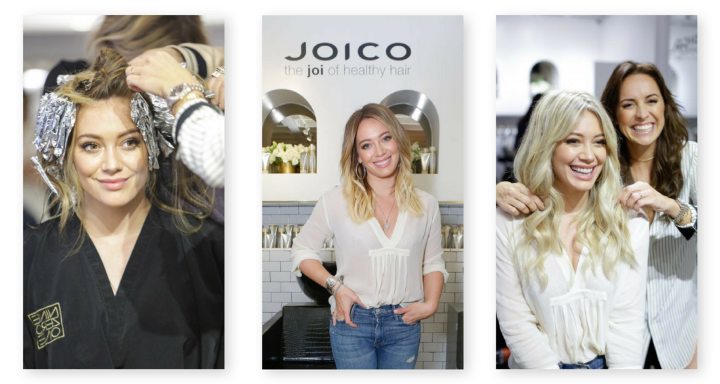 Hilary Duff JOICO