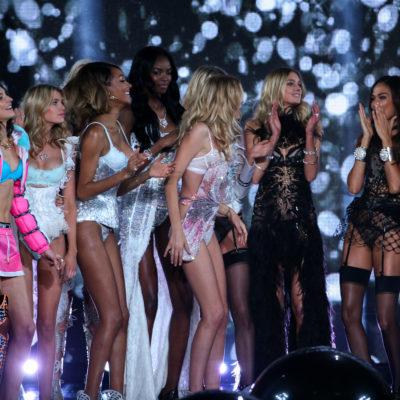 Codzienne fryzury modelek Victoria's Secret