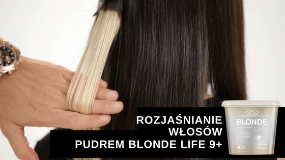 Efekty rozjaśniania pudrem Blonde Life