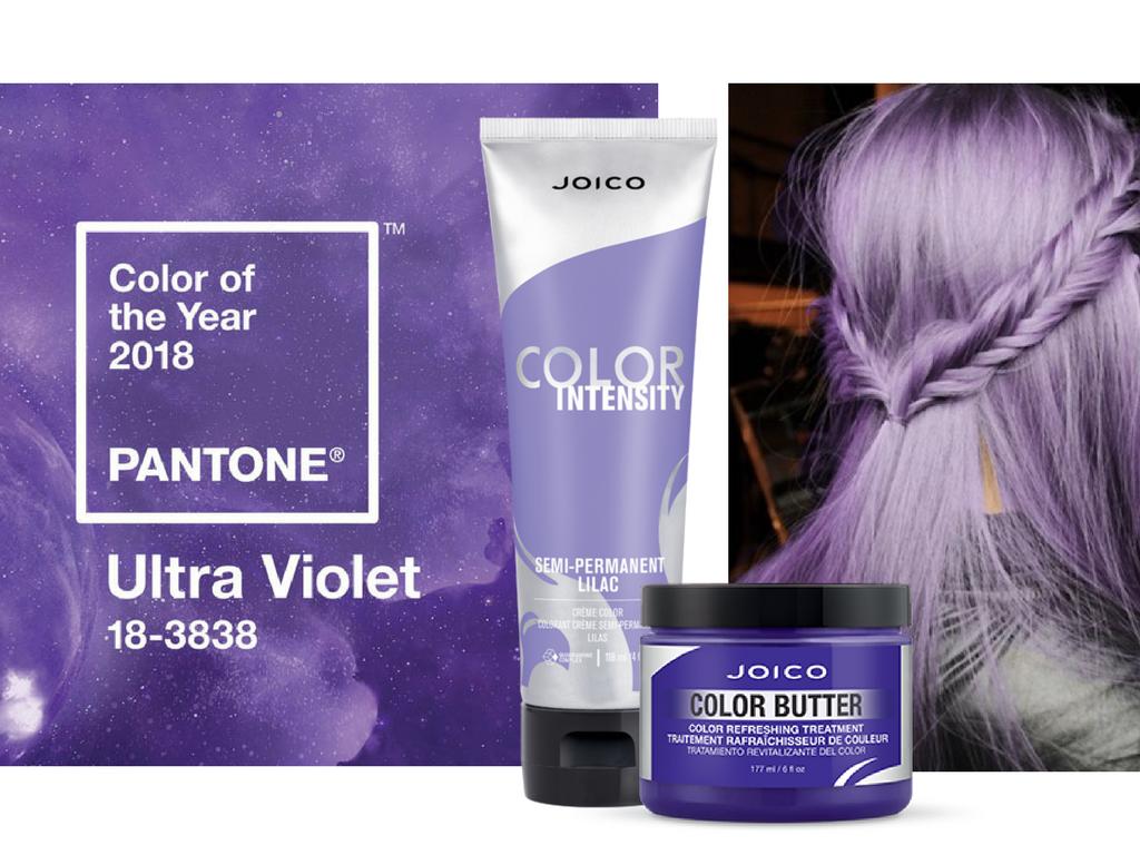 Ultraviolet - kolor Pantone 2018