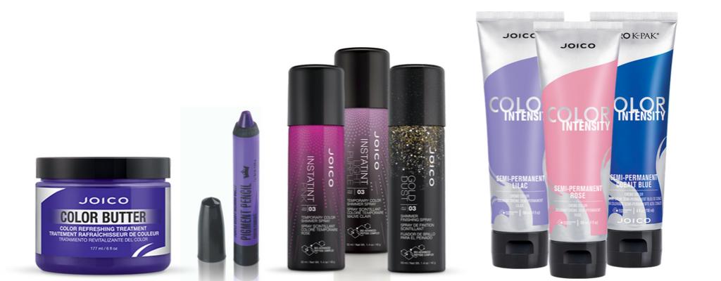 Produkty do tymczasowej koloryzacji włosów JOICO