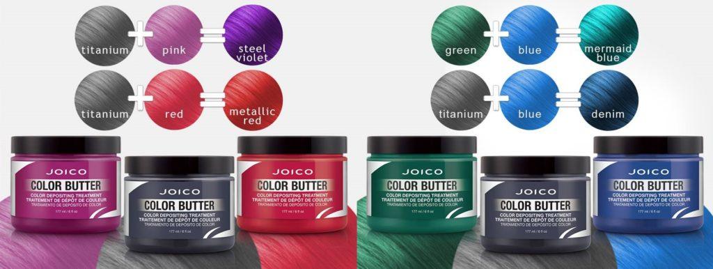 JOICO Color Butter - keratynowa koloryzacja - propozycje mieszania