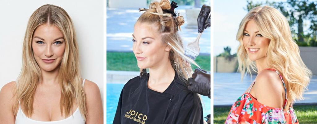 Keratynowa koloryzacja Joico - włosy cienkie