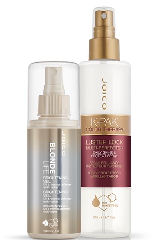 Kosmetyko do włosów z filtrami UV