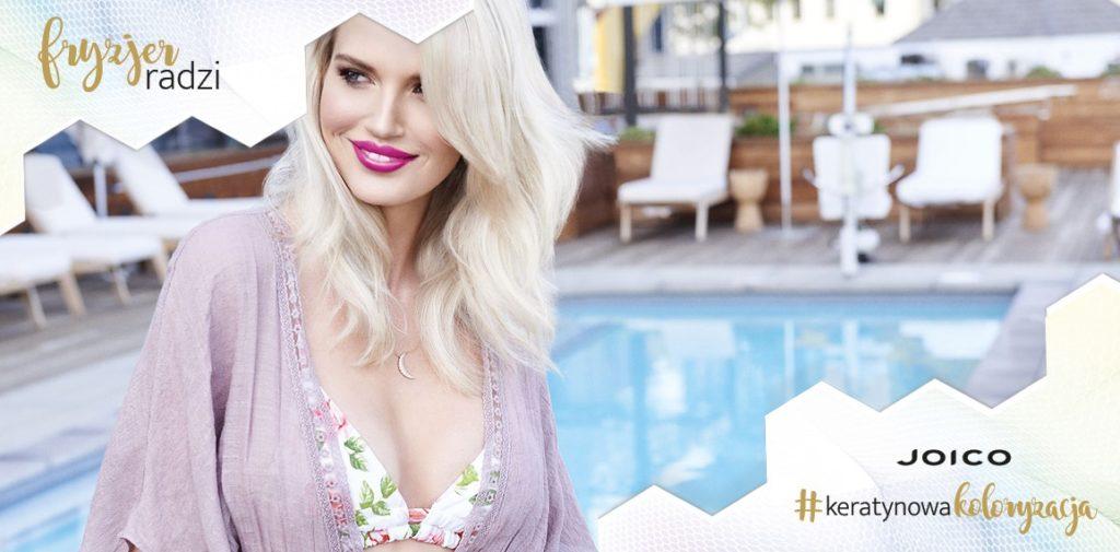 Świetlisty blond z Keratynową koloryzacją – jak to zrobić