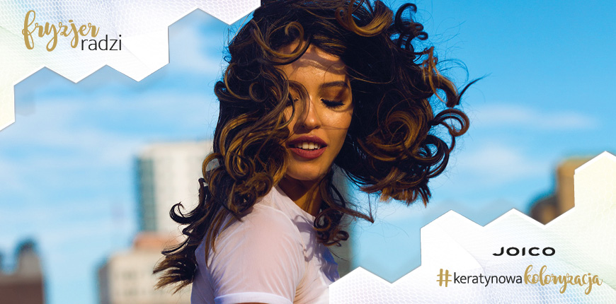 Koloryzacja dla włosów kręconych – jaką wybrać i jak dbać o loki - rady od fryzjera
