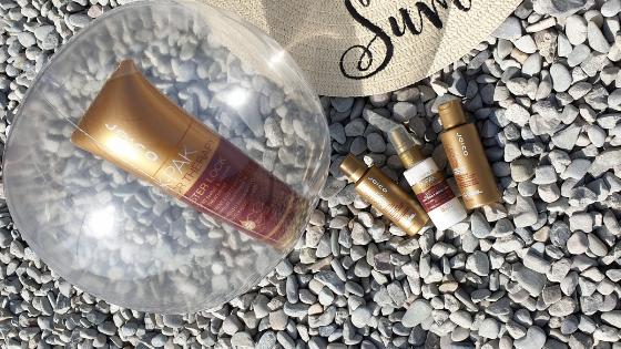 Spray ochronny do włosów przed słońcem