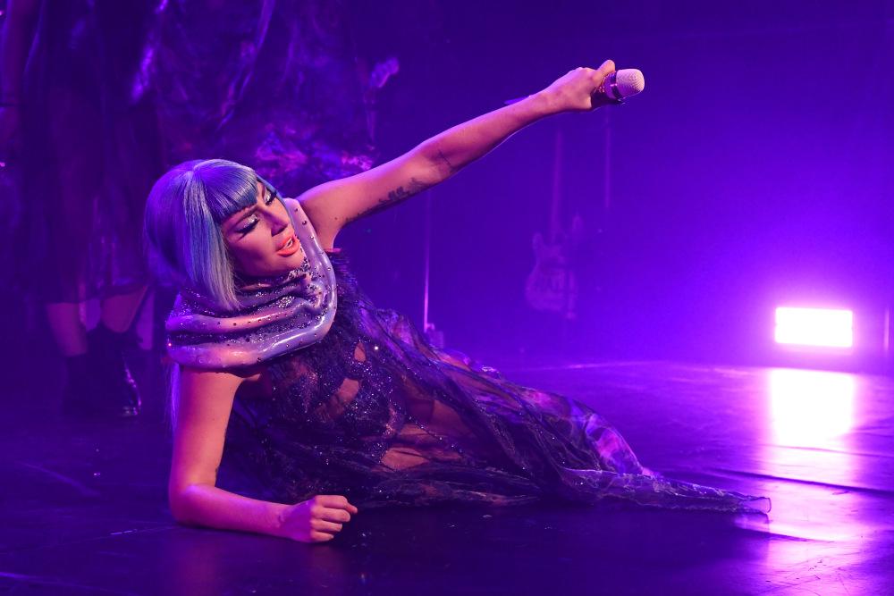 Lady Gaga fryzura