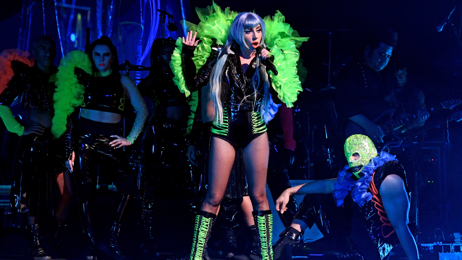 Fryzura Lady Gaga