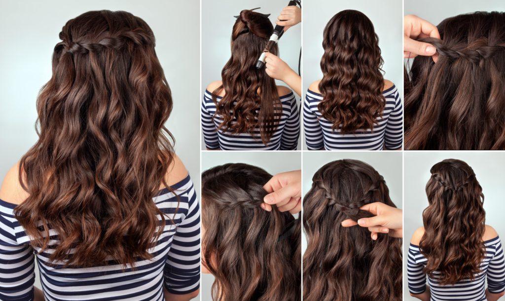 kaskada włosów