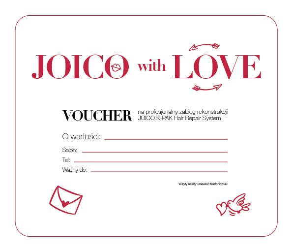 Voucher walentynkowy - Zabieg Rekonstrukcji Joico K-PAK