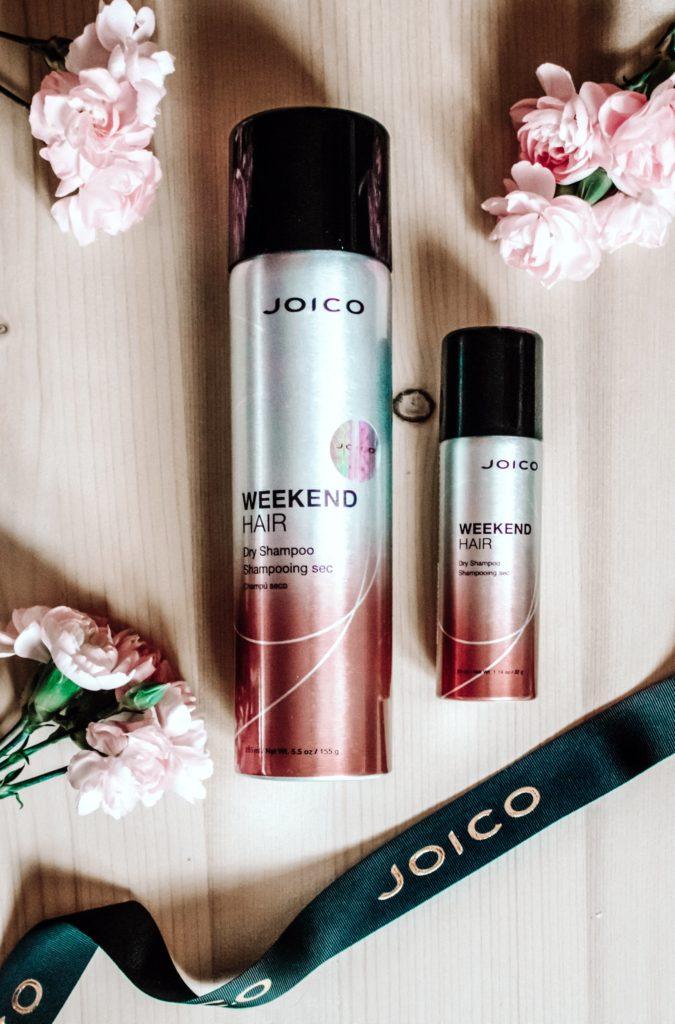 najlepszy suchy szampon w sprayu, joico weekend hair