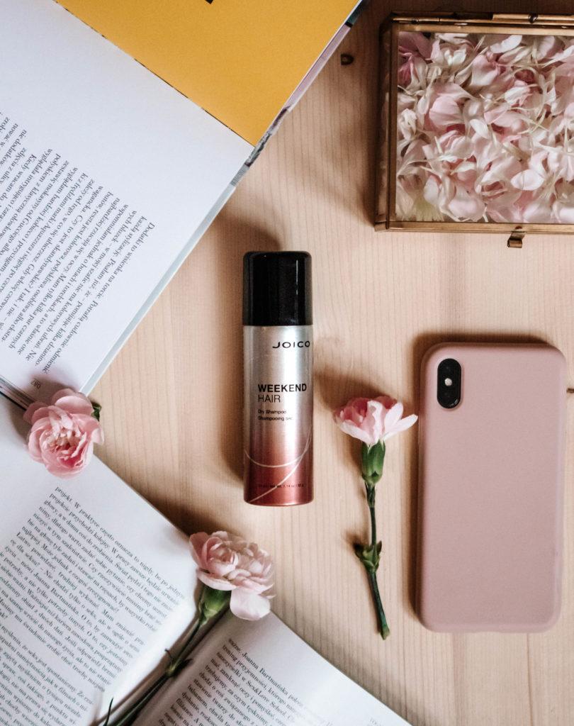 suche szampony, joico weekend hair spray