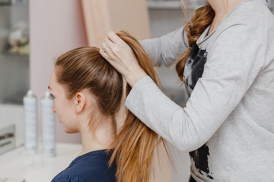 wysoki kucyk, ariana grance ponytail