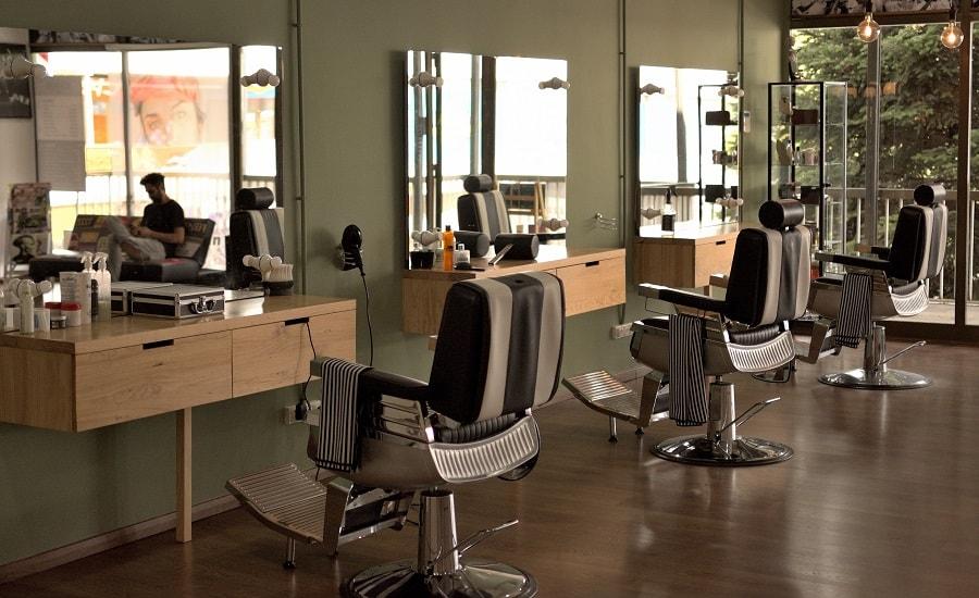sposoby na oszczędzanie energii, światło w salonie fryzjerskim