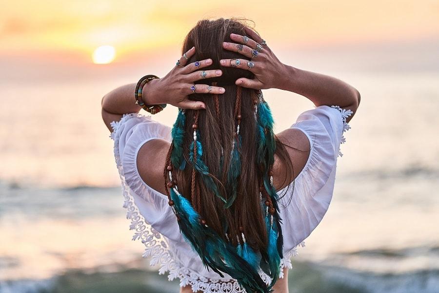fryzury na plażę